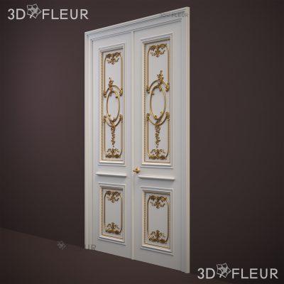 STL модель двери