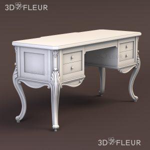 STL модель стола 01