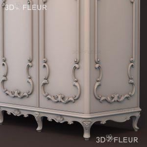 STL модель шкафа 01