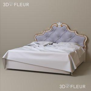 STL модель кровати 06