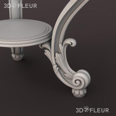 STL модель столика 03