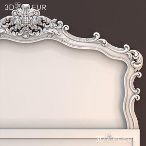 STL модель кровати 010