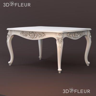 STL модель стола 04