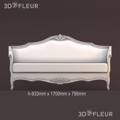 STL модель дивана 01