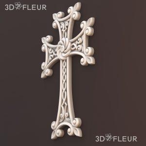 STL модель креста 01