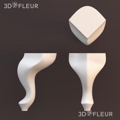 STL модель ножки 06