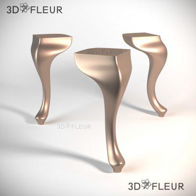 STL модель ножки 011