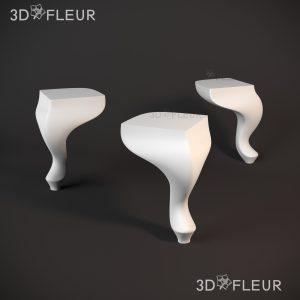 STL модель ножки 012